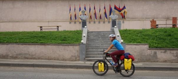 Ankunft Armenien