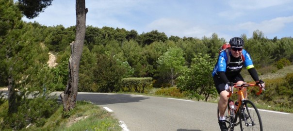 Rodney auf Tour in der Provence - HIBIKE Racing Team