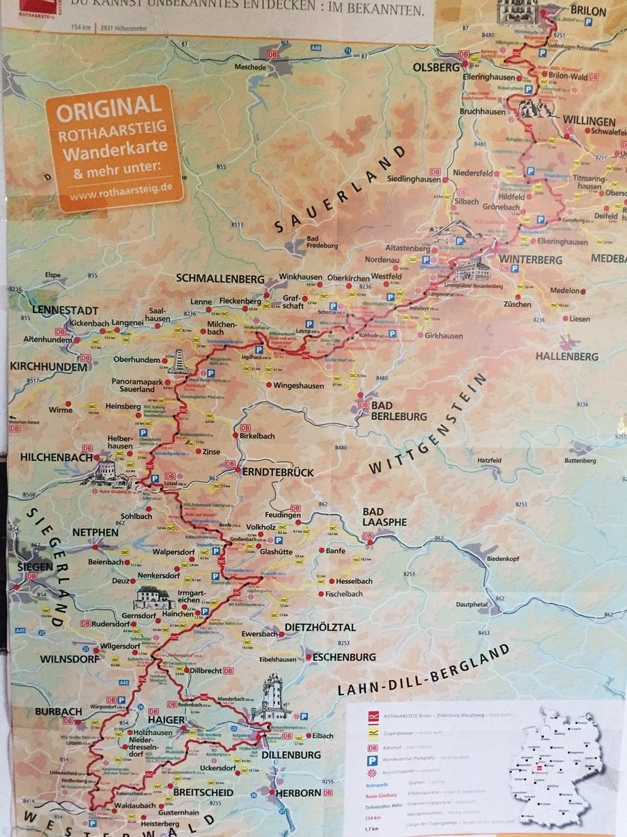 Rothaarsteig Karte.Rothaarsteig Per Mtb Erfahrungsbericht Hibike Blog