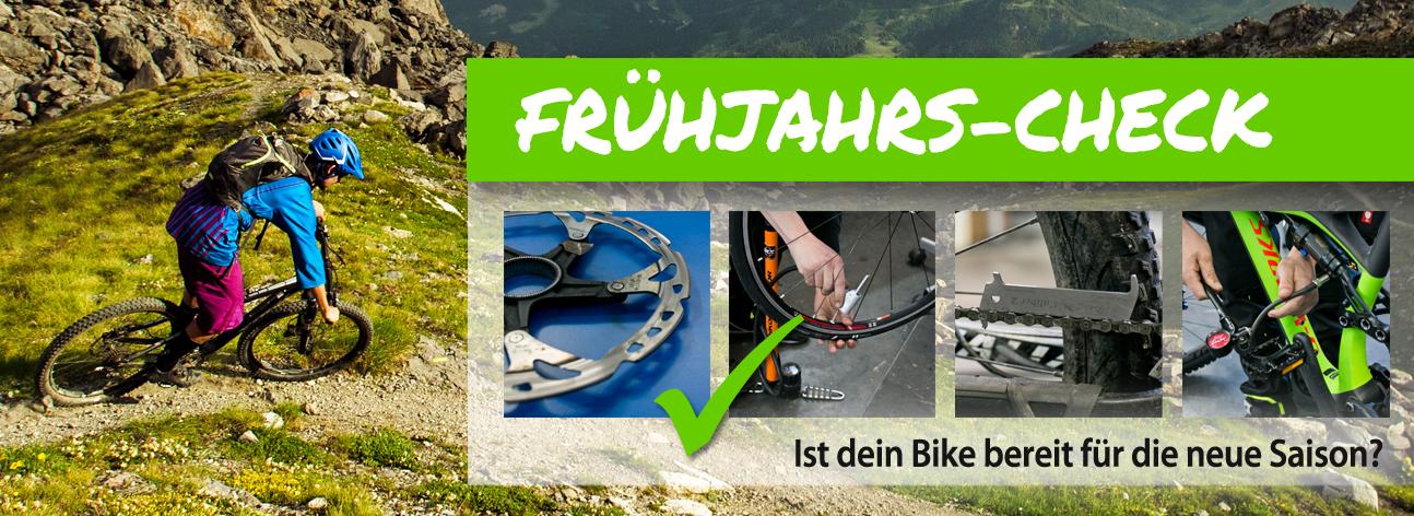 Frühjahrs-Check - Ist dein Bike bereit für die neue Saison?