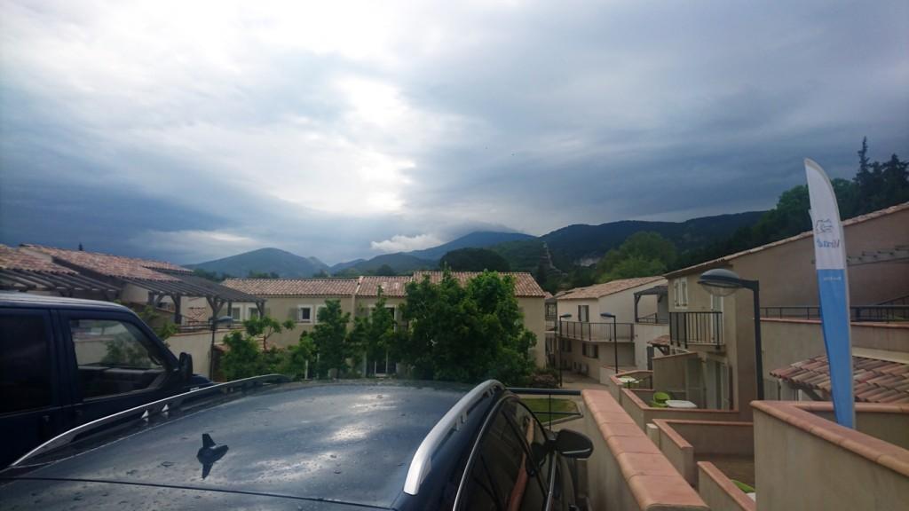 Schlechtes Wetter in Sicht