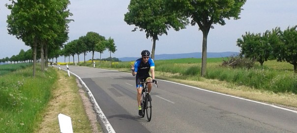 Veit vom HIBIKE Racing Team bei der RTF in Budenheim