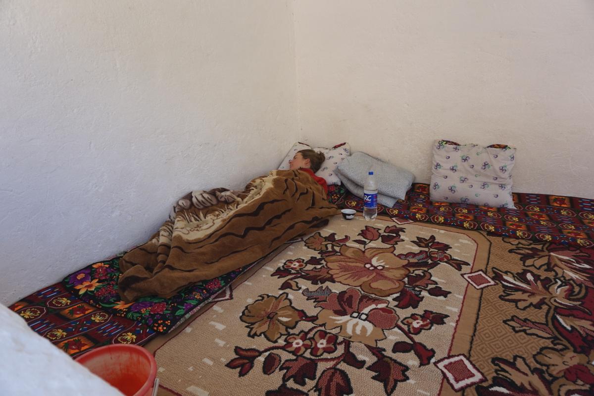 Ohne Krankheit schafft es fast keiner durch Tajikistan
