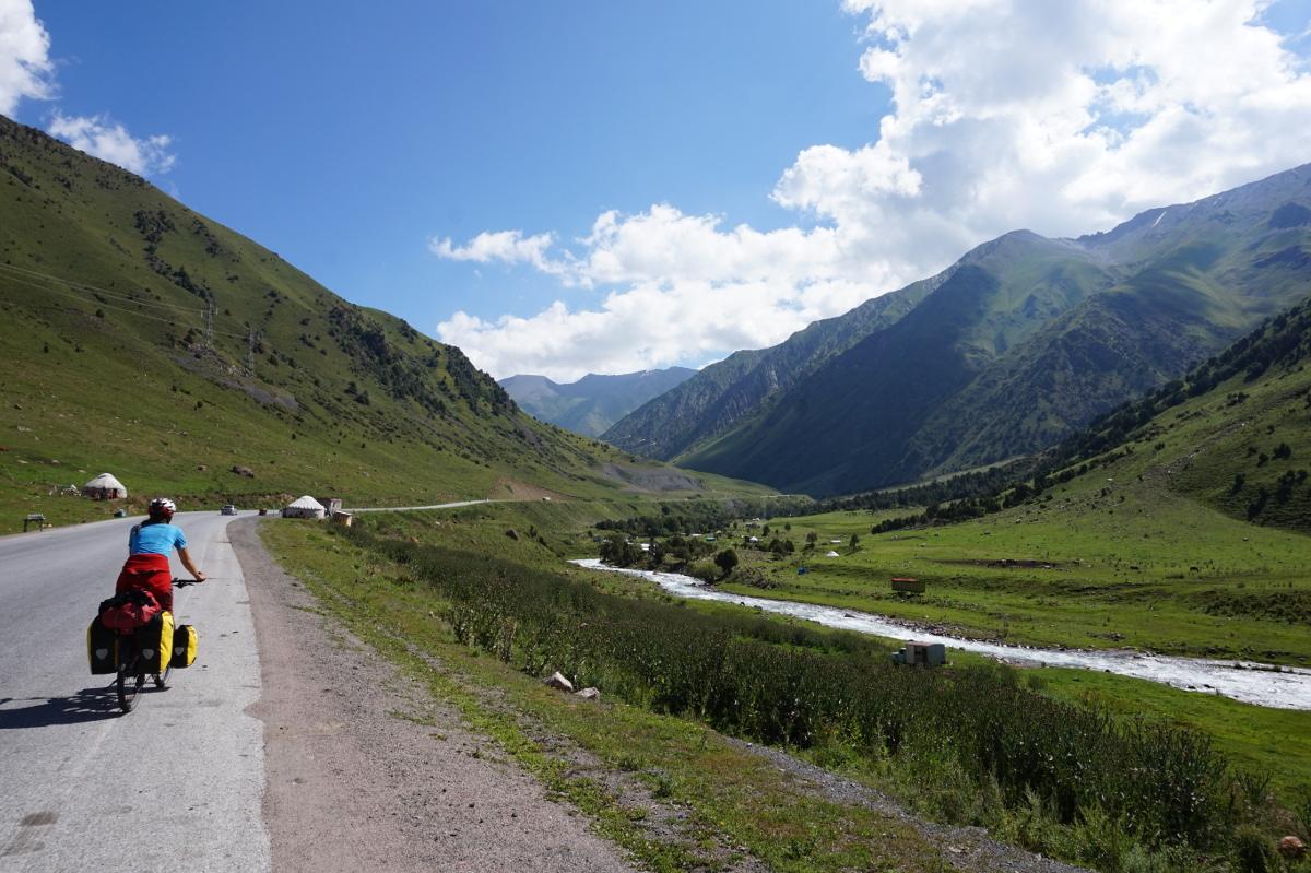 Radeln in Kirgisistan