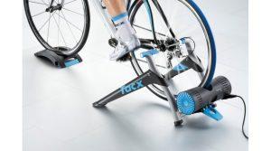 Beispiel für eine Rolle mit fixiertem Hinterrad - Tacx Virtual Reality Trainer