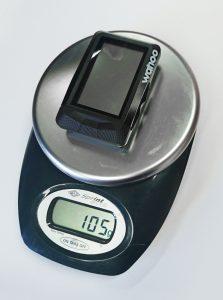 Wahoo Elemnt Gewicht - 105g