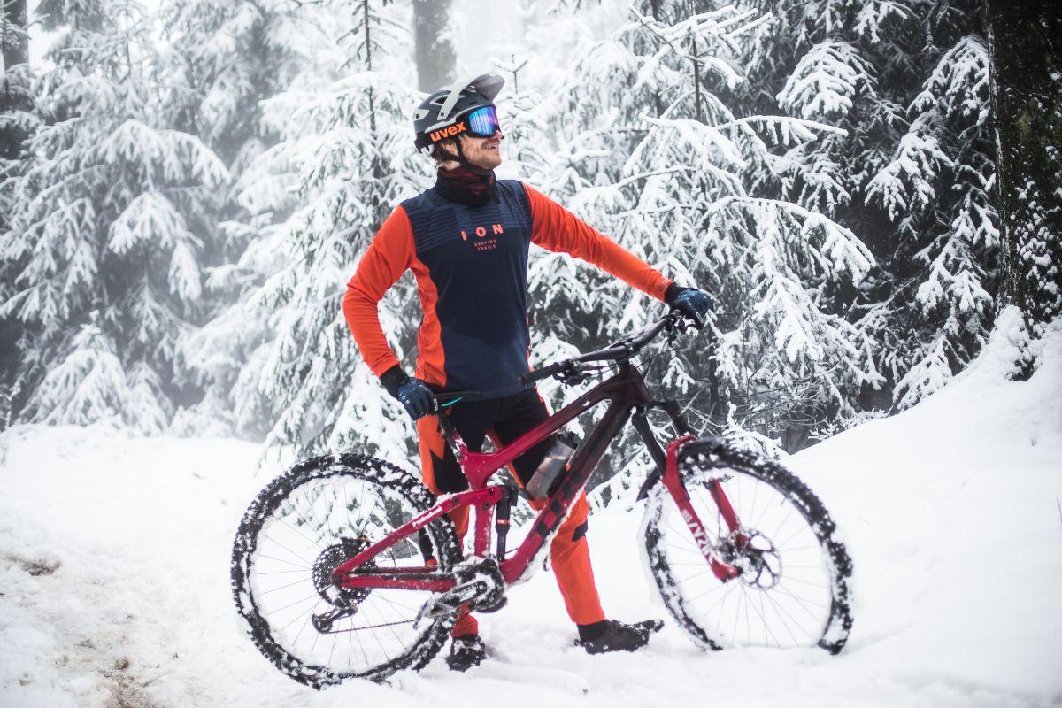 Marcel im Schnee